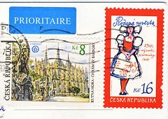 Tschechien Juli (postcardlady1) Tags: briefmarken stamps
