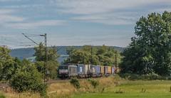 2317_2016_07_10_Haunetal_Unterhaun_MRCEdispolok_ES_64_U2_-_092_DISPO_6189_992_mit_KV_Bad_Hersfeld (ruhrpott.sprinter) Tags: ruhrpott sprinter deutschland germany nrw ruhrgebiet gelsenkirchen lokomotive locomotives eisenbahn railroad zug train rail reisezug passenger gter cargo freight fret diesel ellok hessen haunetal unterhaun db cancantus cfla dispo eloc mrcedispolok bb rhc railpoolrpool railservices sbbc txltxlogistik txla wlb wienerlokalbahnencargo 101 120 151 152 185 193 411 415 428 1266 es64u2 es64f4 ice r5 lokzug taurus eccorail anrufschranke outdoor logo natur graffiti