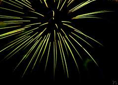 Spread Out! (nimitrastogi) Tags: docklands australia melbourne fireworks crackers light night green celebration nikon tamron vsco