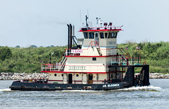 J B BLOOMER (Matt D. Allen) Tags: tugboat houstonshipchannel shipspotting