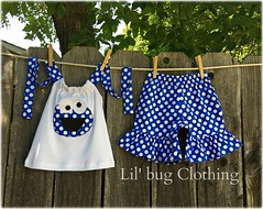 Unknown (Lil' Bug Clothing) Tags: cookie monster short halter top outfit