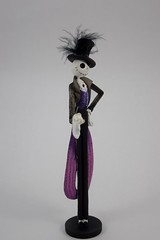 Couture de Force Jack Skellington Figurine by Enesco - Disneyland Purchase - Full Left Front View (drj1828) Tags: us disneyland dlr 2016 figurine nightmarebeforechristmas sally couturedeforce purchase enesco