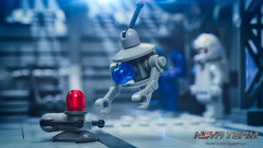 BLIP Meet FLIP (Agaethon29) Tags: lego afol legography legophotography minifig minifigs minifigure minifigures toy toyphotography macro cinematic 2016 legospace neoclassicspace spaceman classicspace space scifi sciencefiction ncs novateam custom
