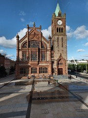 Londonderry Guildhall (glynspencer) Tags: londonderry colondonderry northernireland gb