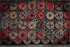 7. Masson Mills, Yorkshire DSCF1393 (janet.oxenham10) Tags: massonmills industrial urban yorkshire factory past bobbins threads