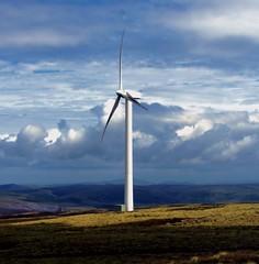 wind turbine (Duncan the road rebel) Tags: windturbine landscape turbine