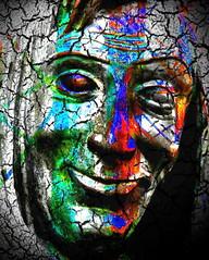 till uhlenspeegel (joei.laut) Tags: joeilaut september 2016 digital art collage till eulenspiegel uhlenspegel eulen uhlen narr psyco ichtiecolors man face portrait portrt elineart texture