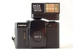 Cosina CX-1 01 () Tags: cosina lomo lomography purple zone focus black plastic japan vintage retro classic 35mm film camera