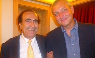 Michel Sogny et Maxime Mitterrand
