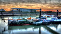 Schiff im Ruhrorter Hafen - Ship in the Ruhrort harbour (lutzmarl) Tags: hafen ruhrort duisburg schiff raddampfer oscar huber