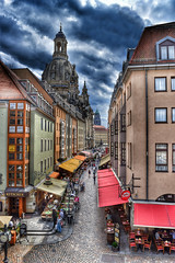 Dresden (Baz 3112) Tags: foranyonewhosinterested 500px hdr hdrcollection hdrgallery hdrphoto hdrphotography city cityscape building buildings history historial architecture perspective street