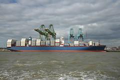 Maersk Sarat DST_7902 (larry_antwerp) Tags: port        belgium belgi          schip ship vessel        schelde        psa maersk noordzeeterminal maersksarat 9732591