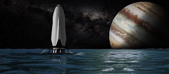 Interplanetary Transport System (Official SpaceX Photos) Tags:
