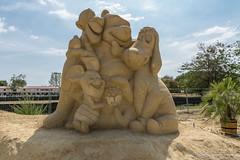 018 - Burgas - Sand Sculptures Festival 2016 - 24.08.16-LR (JrgS13) Tags: bulgarien filmhelden outdoor reisen sand sandscuplturefestivals sandskulpturenfestival urlaub burgas