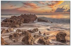 Coral Cove Sunrise (jeannie'spix) Tags: jupiter coralcove beach sunrise florida