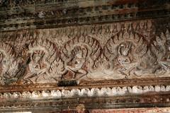 Apsara in Inner Sanctury of angkor Wat (meg williams2009) Tags: cambodia siemreap angkorwat apsara khmerart stonesculptures devatas unescoworldheritage