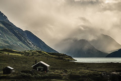 Gjendesheim, Norway (Karol Majewski) Tags: norway norge norwegia scandinavia landscape nature jotunheimen krajobraz mountains gry lake jezioro gjende gjendesheim vg oppland chmury clouds water woda wander wanderlust