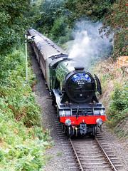 Flying Scotsman (Eddie_UK) Tags: flyingscotsman svr severnvalleyrailway steam steamtrain kidderminster