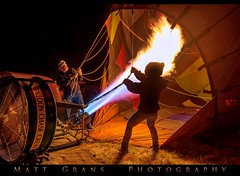 Preflight Prep at Dawn (Matt Grans Photography) Tags: hotairballoon fire torch morning glow reno festival nevada