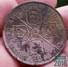 1889 Queen Victoria Silver florin (ttbeep) Tags: queenvictoria silver florin motherearth yorkshire england