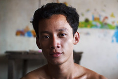Bora (alfieianni.com) Tags: cambodia phnom penh people portrait boy story