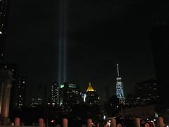 IMG_6652 (gundust) Tags: nyc ny usa september 2016 newyork newyorkcity manhattan architecture wtc worldtradecenter september11th 911 tributeinlight xeon twintowers memorial remembrance night