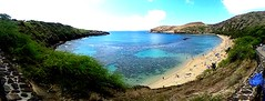 America's 2016 #1 rated beach: Hanauma Bay Nature Preserve on O'ahu, Hawaii (Kanalu Chock) Tags: scenicsnotjustlandscapes