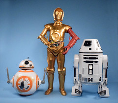 Star Wars The Force Awakens BB-8, C-3PO, and RO-4LO (12-inch scale, Target Exclusive) (FranMoff) Tags: actionfigures starwars hasbro robot droid c3po bb8 forceawakens ro4lo