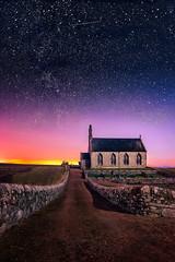 Under Starry Skies (devlin11) Tags: boarhills church standrews fife scotland sunrise exposure scenery sky stars colour coast morning magic landscape path tranquil deserted nikon d810