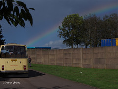 Bristol at the end of the rainbow!  M9253204sm (Preselector) Tags: showbus donington jma413l bristol re northwestern rainbow