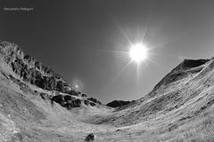 Alps (pellegrini.alessandro) Tags: alps switzerland love sun summer mountain ticino nature blackandwhite fisheye