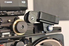 Remote servo motor on 3D rig (3D FILM FACTORY - 3D Rigs & Production) Tags: beamsplitter 3dfilmmaking 3dmovies 3dfilming 3dproduction 3drigs 3drig 3dcamerarig shoot3d motorized3drig
