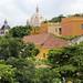 Vista della cupola di San Pedro Claver in Cartagena