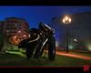 """""""Le courrier du coeur"""" de Toutain (mamnic47 - Over 10 millions views.Thks!) Tags: sculpture lampadaire puteaux 121212 placedelamairie img8531 jltoutain jeanlouistoutain lecourrierducoeur resinenoire"""