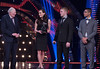 BBC Sports Personality of the Year - Jonnie Peacock, Louis Smith picking up the award for Team of the Year Victoria Pendleton, Sir Roger Bannister - (C) BBC