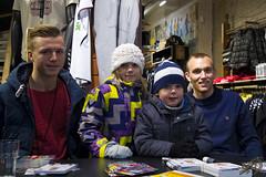 Casper Sloth og Kasper Povlsen og en Fan (Appaz Photography ) Tags: denmark agf aarhus rhus jylland fodboldspiller kasperpovlsen caspersloth