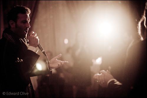 Cantante de boda - baile nupcial - Edward Olive photographer fot�grafo photographe Fotograf