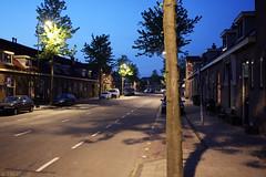 Straat in Haarlem (Tim Boric) Tags: street haarlem dusk avond schemering straat