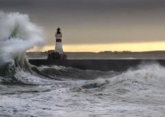Winter Weather (linlaw39) Tags: winter sea lighthouse nature weather scotland gallery waves aberdeenshire harbour wildlife stormysky 2012 stormyweather winterstorm fraserburgh seatown northeastcoast lindal wildwaves highwinds galeforcewinds stormysea wildsea fraserburghharbour decem