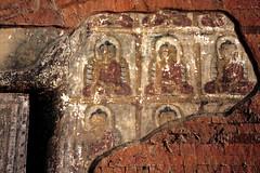 061-Bagan: 4th & 5th Day (meg williams2009) Tags: temple pagoda mural burma myanmar phaya fresco wallpainting bagan phato oldbagan painting wall wallpaintingofbuddha htminlopahto