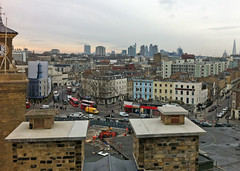 London skyline on a dreary day (Biggleswade Blue) Tags: london st skyline view cathedral south pauls shard gherkin