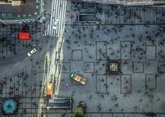 Marienplatz, Munich (Aerial Photography) Tags: city shadow people by munich mnchen traffic platz tourist aerial menschen m stadt metropolis altstadt schatten zebrastreifen deu marienplatz settlement luftbild luftaufnahme touristen obb bayernbavaria deutschlandgermany grosstadt 29121994 fusgngerzone fotoklausleidorfwwwleidorfde 040422128