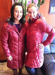 Twinsies (mrsLiz) Tags: twins warm down jackets downjacket golite uploaded:by=flickrmobile flickriosapp:filter=nofilter
