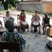 the best feeling in the world - a great drum class on the soil of Africa.
