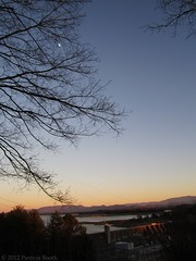 Day 357 Douglas Dam at Sunset (pixygiggles) Tags: mountains landscape dailyphoto 366 douglasdam