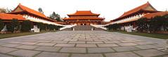 Hsi Lai Temple | PC272515 Panorama-1 (:munna) Tags: california temple shrine main lai heights hacienda hsi