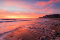Burning Sky #1 (Corsaro078) Tags: sunset sea sky seascape landscape tramonto mare cielo paesaggio