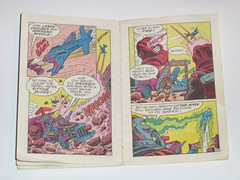 m.a.s.k mini comic 1 flaming beginnings kenner 8 (tjparkside) Tags: comic mask kenner minicomic