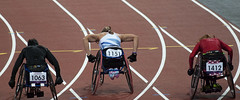 Hannah Cockroft 100m final (joemuggins) Tags: greatbritain england london unitedkingdom olympics olympicpark 2012 paralympics london2012 hannahcockroft