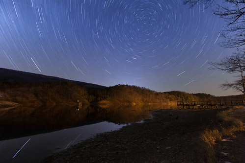 Douthat State Park Star Trails